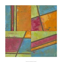 """Paradise Abstract I by Megan Meagher - 24"""" x 24"""" - $62.49"""