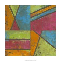"""Paradise Abstract II by Megan Meagher - 24"""" x 24"""" - $62.49"""