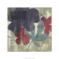 "Whimsical Tapestry I by Jennifer Goldberger - 24"" x 24"""