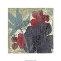 "Whimsical Tapestry II by Jennifer Goldberger - 24"" x 24"""