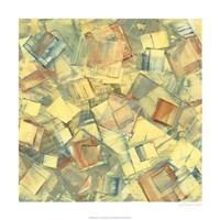 "Square Dance I by Sharon Gordon - 24"" x 24"", FulcrumGallery.com brand"