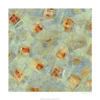 "Square Dance III by Sharon Gordon - 24"" x 24"", FulcrumGallery.com brand"