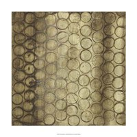 "Circular Imprint I by Jennifer Goldberger - 24"" x 24"""
