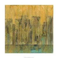 """City by the Sea I by Jennifer Goldberger - 24"""" x 24"""""""
