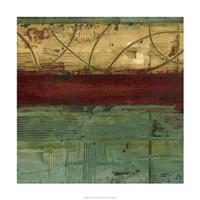 """Ribbon Abstract II by Ethan Harper - 24"""" x 24"""""""