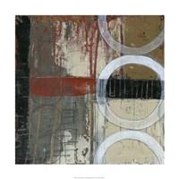 Circles & Stripes I Framed Print