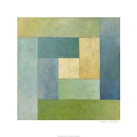 """Quilted Abstract II by Megan Meagher - 24"""" x 24"""""""