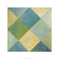 """Quilted Abstract III by Megan Meagher - 24"""" x 24"""""""