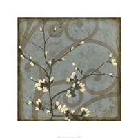 "Blossom Branch I by Jennifer Goldberger - 24"" x 24"""