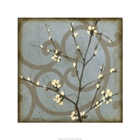 "Blossom Branch II by Jennifer Goldberger - 24"" x 24"""