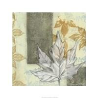 "Leaf Repeat I by Jennifer Goldberger - 24"" x 24"""