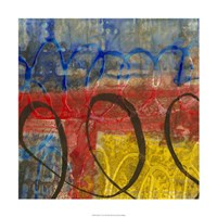 "Spiral IV by Jennifer Goldberger - 24"" x 24"", FulcrumGallery.com brand"