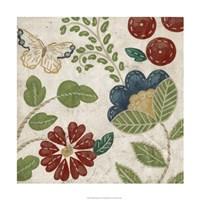 """Valentine Tapestry II by Chariklia Zarris - 24"""" x 24"""""""