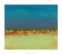 "Harbor Light III by Sharon Gordon - 28"" x 24"", FulcrumGallery.com brand"