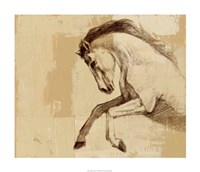 "Majestic Horse II by Ethan Harper - 28"" x 24"", FulcrumGallery.com brand"