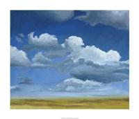 "Big Sky I by Megan Meagher - 28"" x 24"", FulcrumGallery.com brand"