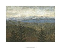 """Blue Ridge View I by Megan Meagher - 30"""" x 24"""" - $52.99"""