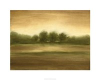 "Golden Mist I by Ethan Harper - 30"" x 24"", FulcrumGallery.com brand"