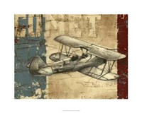 "Vintage Aircraft I by Ethan Harper - 30"" x 24"", FulcrumGallery.com brand"