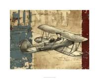 Vintage Aircraft I Fine Art Print