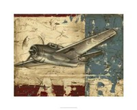 """Vintage Aircraft II by Ethan Harper - 30"""" x 24"""""""