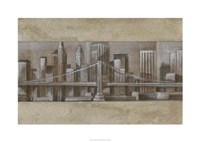 "Silver Skyline I by Ethan Harper - 34"" x 24"", FulcrumGallery.com brand"