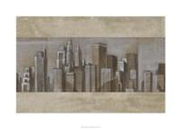 "Silver Skyline II by Ethan Harper - 34"" x 24"", FulcrumGallery.com brand"