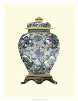 """Blue Porcelain Vase II by Vision Studio - 18"""" x 24"""""""