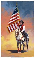 "All American by Julie Chapman - 15"" x 25"" - $27.99"