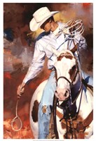 "The Roper by Julie Chapman - 17"" x 25"" - $31.49"