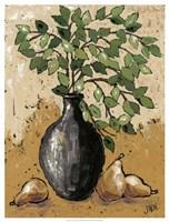 """Leaves & Pears by Jade Reynolds - 19"""" x 25"""""""