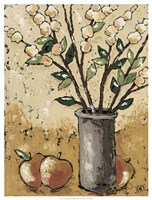 """Leaves & Apples by Jade Reynolds - 19"""" x 25"""""""