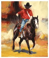 """Rodeo Style by Julie Chapman - 21"""" x 25"""""""