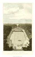 Garden at Versailles II Framed Print