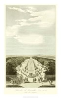 Garden at Versailles III Framed Print