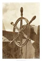 "Sepia Ship's Wheel I by Vision Studio - 18"" x 26"" - $31.49"