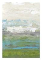 "Heather Seas I by Jennifer Goldberger - 18"" x 26"" - $31.49"