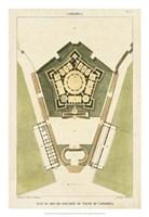 Plan du Rez De Chaussee du Palais Fine Art Print