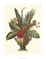 """Tropical Foliage in Urn I by Vision Studio - 20"""" x 26"""""""