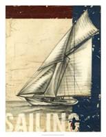 "Vintage Tradewinds I by Ethan Harper - 20"" x 26"""