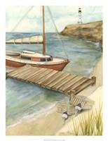 Shoreline Dock II Fine Art Print