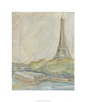 "View of Paris II by Ethan Harper - 22"" x 26"""