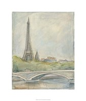 "View of Paris III by Ethan Harper - 22"" x 26"""