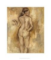 "Nude Figure Study II by Jennifer Goldberger - 22"" x 26"""