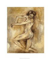 "Nude Figure Study III by Jennifer Goldberger - 22"" x 26"""