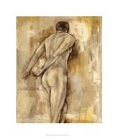 "Nude Figure Study IV by Jennifer Goldberger - 22"" x 26"""
