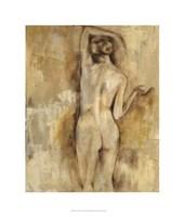 """Nude Figure Study V by Jennifer Goldberger - 22"""" x 26"""""""