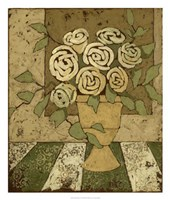 "Golden Bouquet II by Megan Meagher - 22"" x 26"", FulcrumGallery.com brand"
