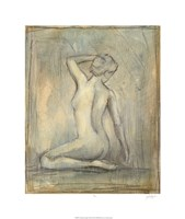 """Contemporary Figure Study II by Ethan Harper - 22"""" x 26"""""""