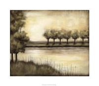 "Waterside Revelry I by Jennifer Goldberger - 30"" x 26"", FulcrumGallery.com brand"